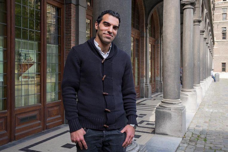 Kinan Batak (27) was leraar Frans in Syrië maar volgt nu de opleiding Rechten aan de UA.