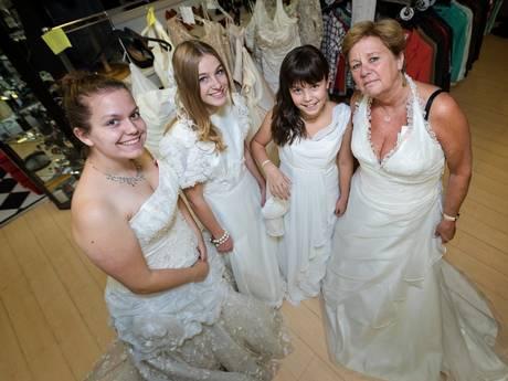 Koopje: bruidsjurk van 100 euro verpatst