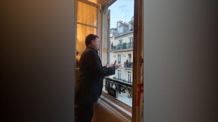 Le chanteur d'opéra parisien Stéphane Sénéchal