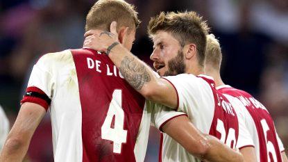 Ajax neemt optie op duel met Standard na thuiszege tegen Sturm Graz