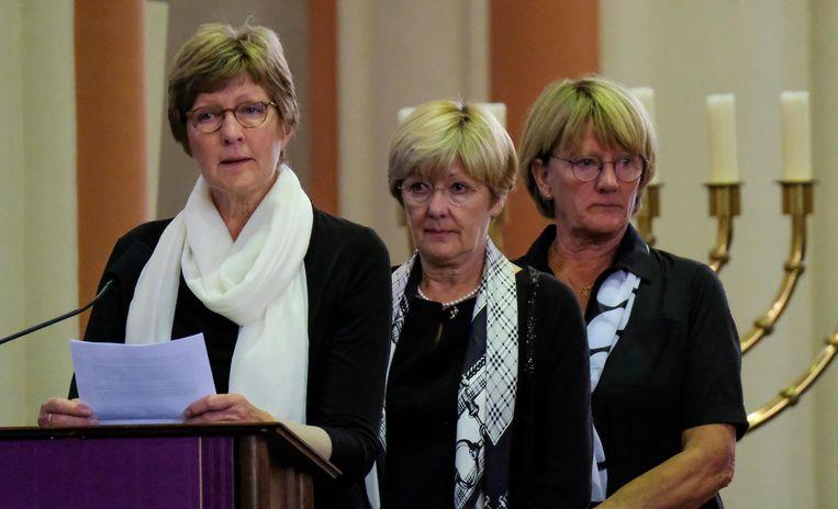 De drie zussen van Gerda Mylle blikten terug op haar leven.