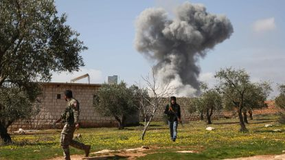 Zware Turkse bombardementen op Afrin