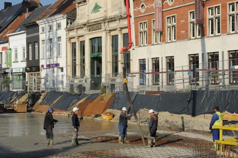 De laatste betonstort is een feit: de oplevering komt daarmee weer een grote stap dichterbij.