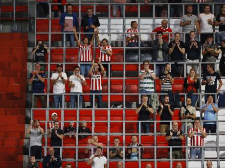 Supporters weer even persona non grata bij hun club, PSV bemoeit zich niet met overheidsbeleid
