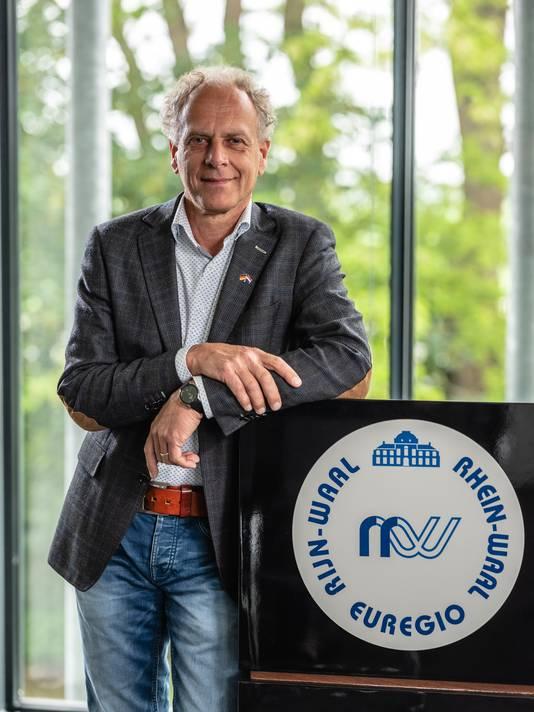 Sjaak Kamps is secretaris van de Euregio.