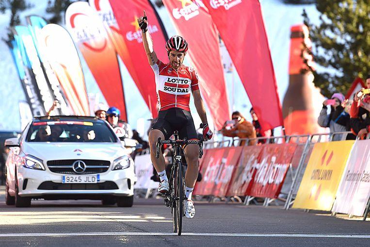 De Gendt won twee jaar geleden ook al in Catalonië.