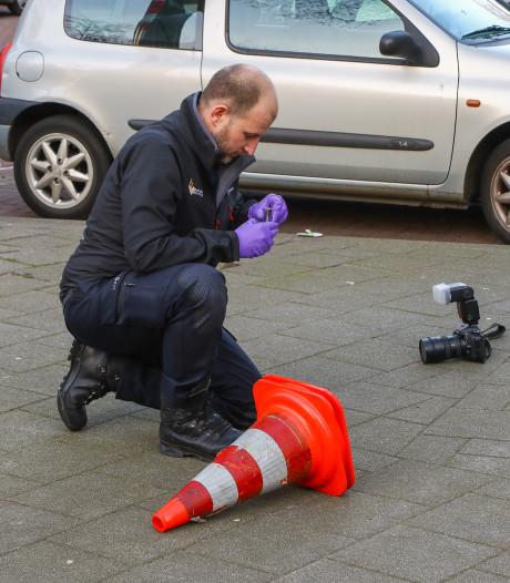Kogelhuls gevonden op het Zwaanshals in Rotterdam