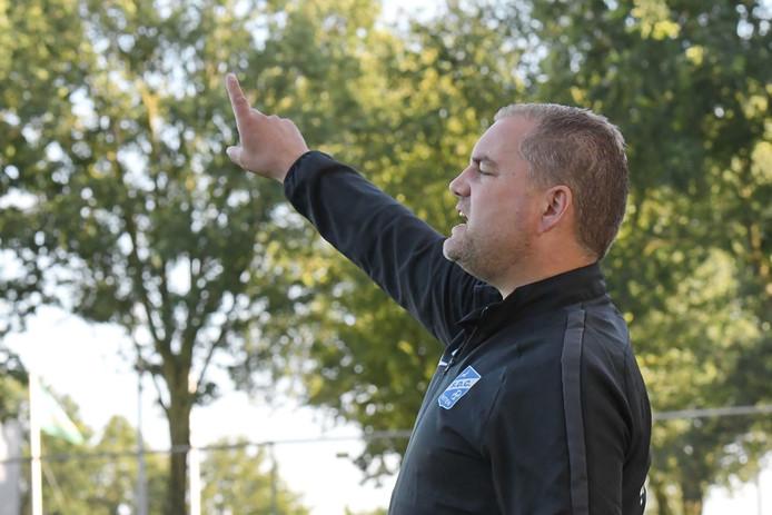 Trainer Cesco Agterberg leed met Putten de derde nederlaag op rij.