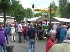 Topdrukte Waterloopleinmarkt Ugchelen