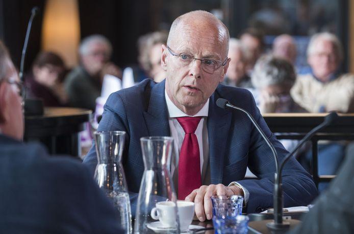Wethouder Bas van Wakeren.