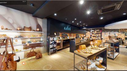 """Schoenenwinkel Ralet in Knokke volledig virtueel en in 3D te bezoeken: """"Letterlijk shoppen vanuit uw kot"""""""