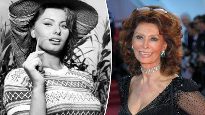 Sophia Loren ontvangt prijs Nederlands filmfestival