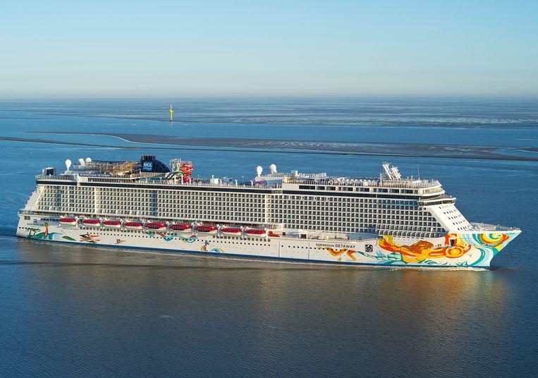Een schip van Norwegian Cruise Lines.