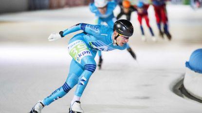 """Bart Swings wint op indrukwekkende manier eerste schaatsmarathon: """"Supermooi"""""""