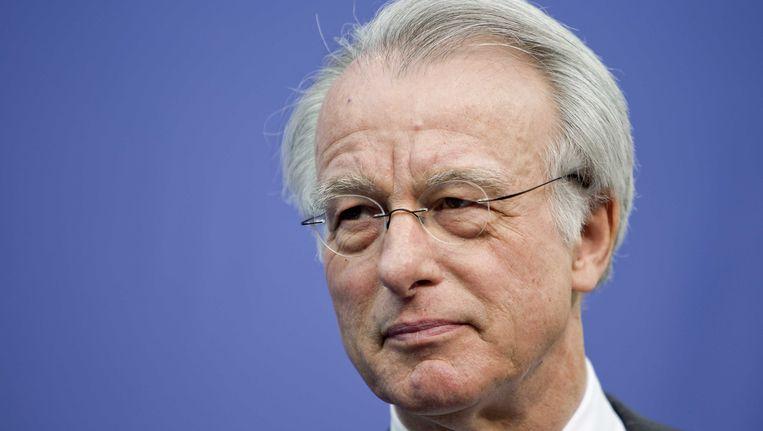 Jozias van Aartsen, burgemeester van Den Haag. Hij maakte vanochtend bekend dat zeven jihadisten uit Den Haag zijn omgekomen in Syrië. Beeld ANP