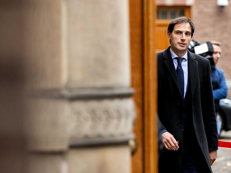 Wopke Hoekstra, minister van Financiën.  Beeld ANP
