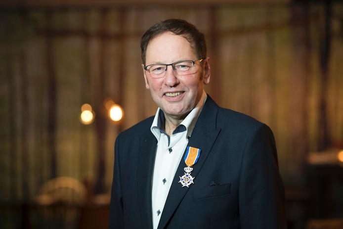 Oud-burgemeester Frank van Beers.
