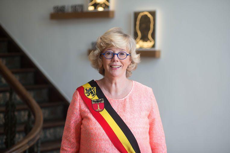 Burgemeester Veerle Heeren (CD&V).