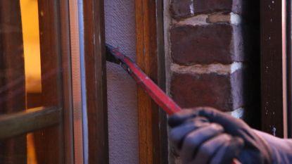Inbrekers forceren deur van veranda