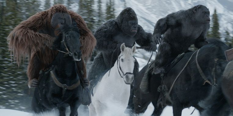 'War for the Planet of the Apes'.