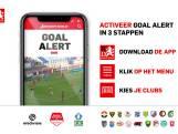 Direct (en gratis) de goals van Willem II, RKC en PSV zien? Zet Goal Alert aan in de BD-app!