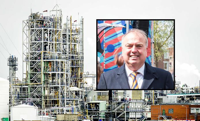 Fotomontage AD: Burgemeester Peter van der Velden van Dordrecht eist duidelijkheid over GenX.