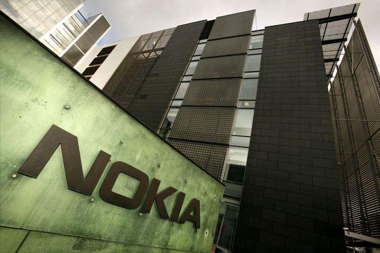 Research-centrum van Nokia in Helsinki (AFP) Beeld