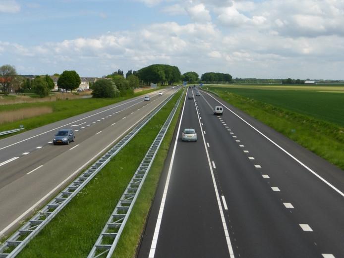 A58 bij Arnemuiden