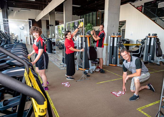 Sportschool Sportiv in Nieuwerkerk aan den IJssel mag weer open. De puntjes worden op de i gezet.