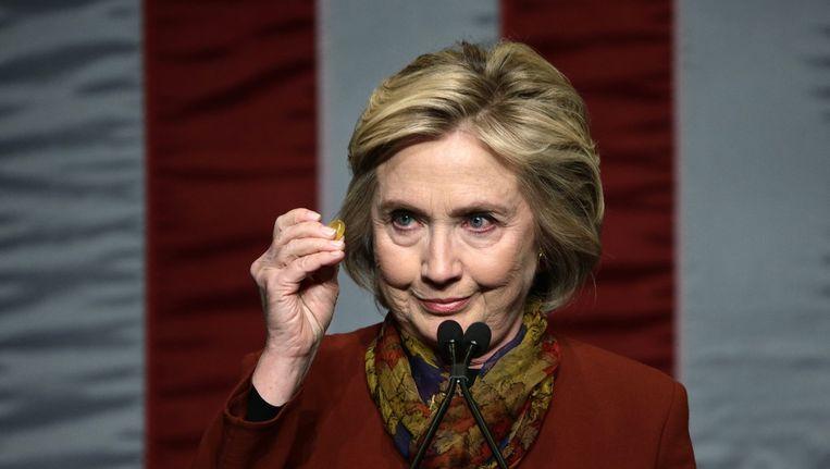 Hillary Clinton zou nu ook in Nevada concurrentie hebben van Bernie Sanders. Beeld null