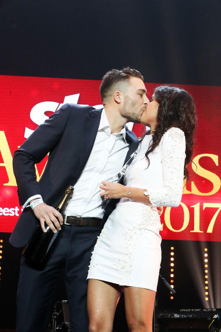 Ondertussen vormen Viktor Verhulst en K3-zangeres Marthe geen koppel meer, maar vorig jaar gingen ze aan de haal met de award voor mooiste BV-koppel.