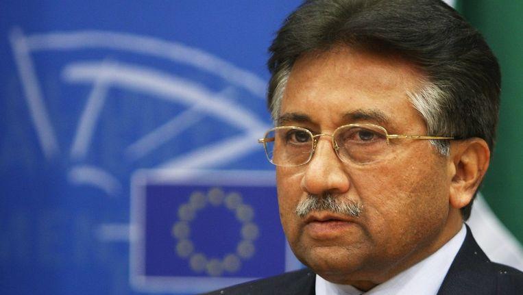 De Pakistaanse president Musharraf in juli 2008. Beeld reuters