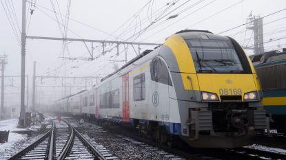 Winterprik veroorzaakt ellende op het spoor: treinreizigers uren geblokkeerd door ijs op bovenleiding