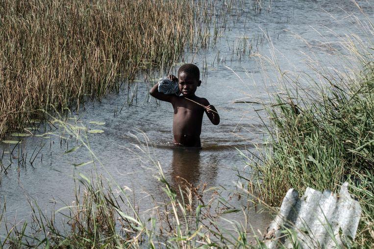 Op 14 maart zette de cycloon Idai de landen Mozambique, Malawi en Zimbabwe onder water.