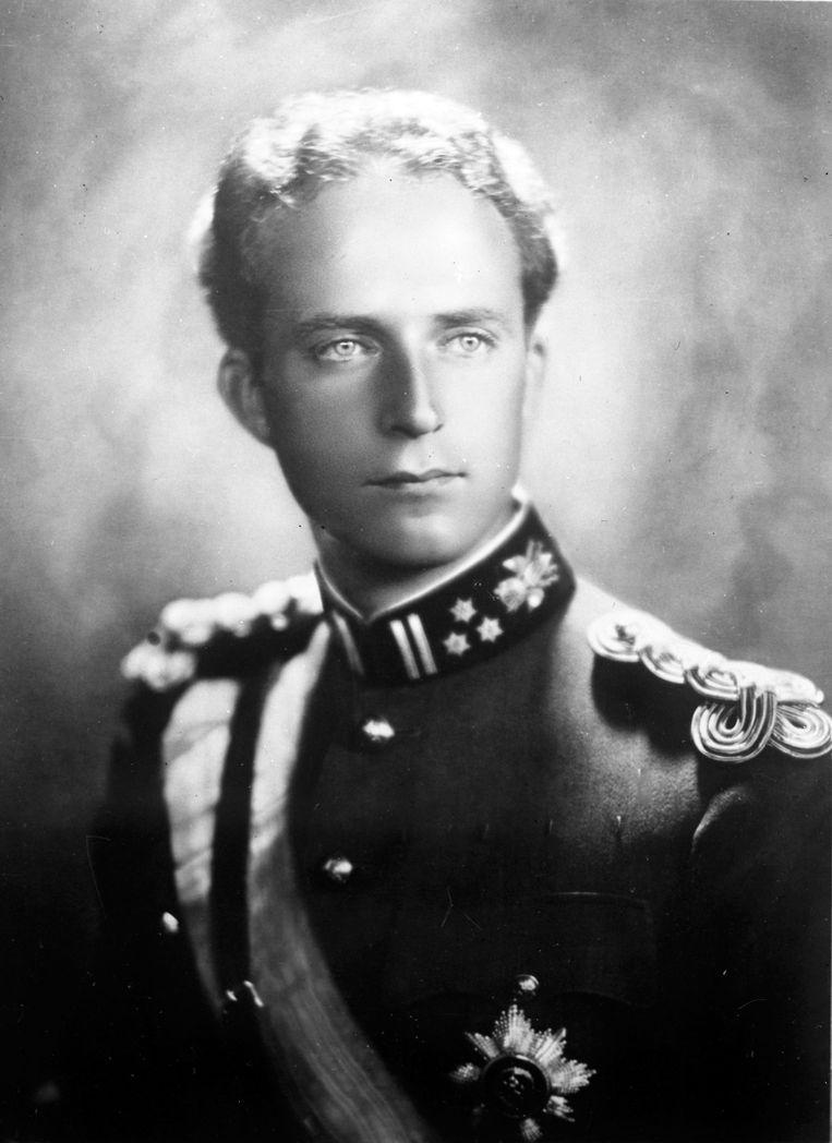 Koning Leopold III in 1935.