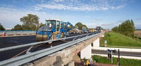 Nieuwe op- en afritten van de A58 bij Goes maandag open