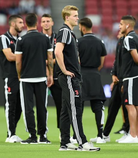 De Ligt debuteert voor Juventus in oefenduel met Tottenham
