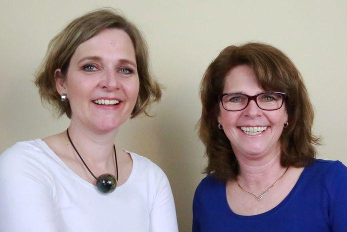 Désirée Castelijn-Boes en Nicolette Boes.