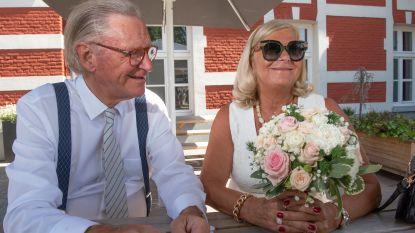 """Willy Naessens trouwt voor de kerk: """"We maken elkaars zinnen af en ze heeft nog altijd schone benen. Dat zal wel liefde zijn, zeker?"""""""