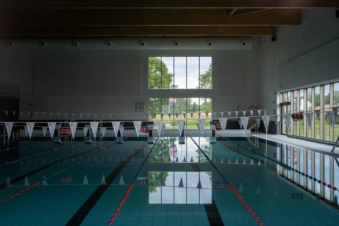 Het zwembad van Sportoase in Heist-op-den-Berg