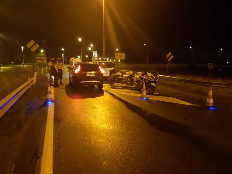 De politiezone Bredene/De Haan hield een controleactie.