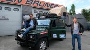 Met terreinwagen de wereld rond: deze twee voetbalvrienden doen het