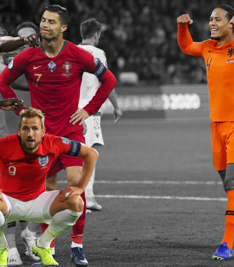 Lukaku, Ronaldo en Kane, hoe gaat het daar?