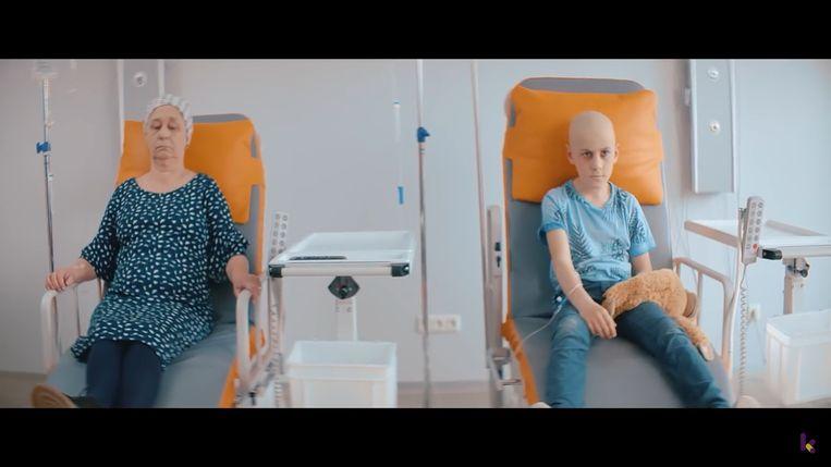 Een fragment uit de videoclip
