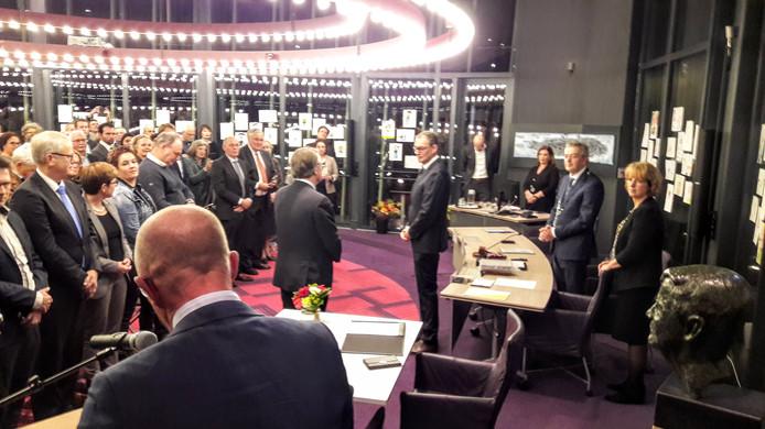 De installatie van Ronald van Meygaarden als burgemeester van Boxtel.