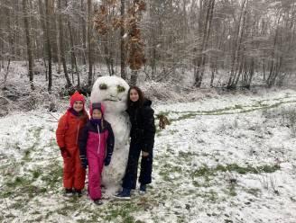 Winters weer zorgt voor sneeuwpret in Stropersbos