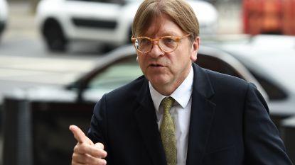 """Verhofstadt over voortgang brexit: """"Britten en Europeanen naderen akkoord over verblijfsrecht"""""""
