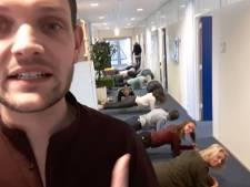 Planking steeds populairder onder ambtenaren Schiedam