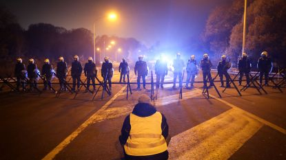 Tien mensen opgepakt bij brandstofprotest, depot in Feluy blijft 's nachts nog gesloten