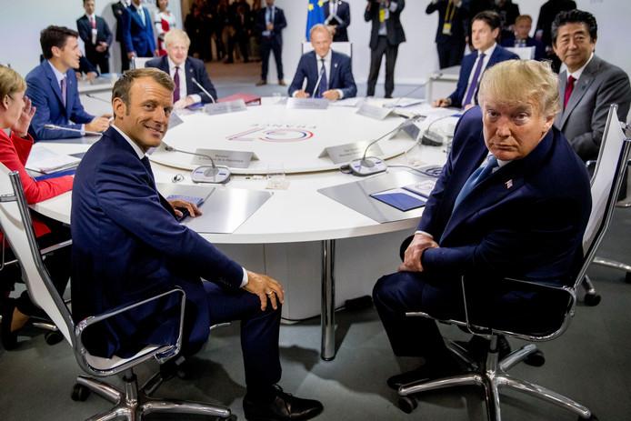 Les dirigeants des pays du G7 à Biarritz, le 24 août 2019.